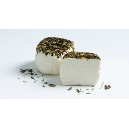 Goat fresh cheese with...
