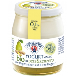 Organic low-fat yogurt...