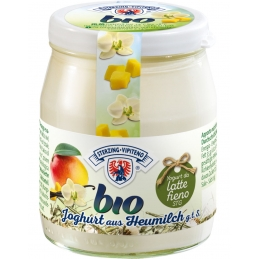 Organic yogurt...