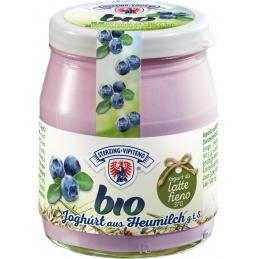 Organic yogurt blueberry...
