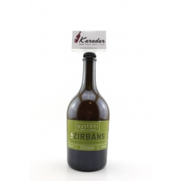 A Zirbans Beer with notes of stone pine 750ml 4,5% GustAhr handcrafted beer