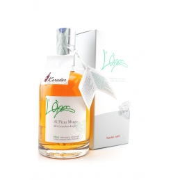 Grappa with mountain pine...
