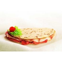 Piadina with raw ham and...