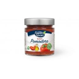 Tomatensauce mit Olivenöl...