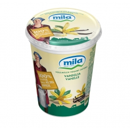 Whole milk yogurt vanilla 6...