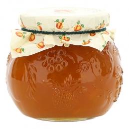 Spreadable fruit jam peach...