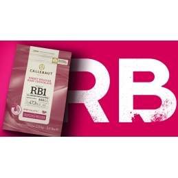 Couverture Ruby Chocolate...