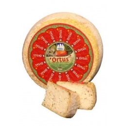 Ortus Hay milk cheese with...
