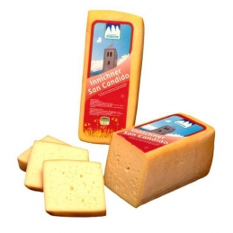 Shaft cheese San Candido from hay milk whole shaft approx. 3.5 kg Three Peaks dairy
