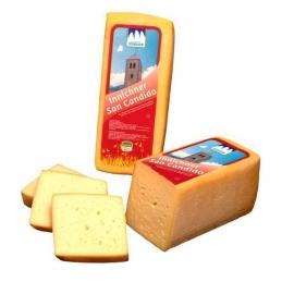 Shaft cheese San Candido from hay milk half shaft approx. 1.7 kg Three Peaks dairy