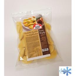 Potato ravioli with porcini...