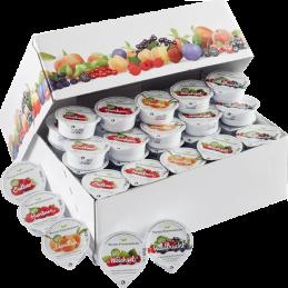 Assorted jam portions 55%...