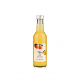 Organic peach fruit nectar...