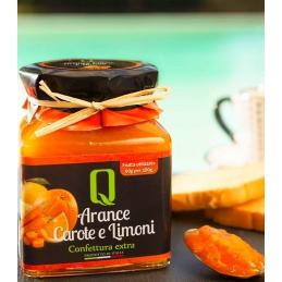 Orange carots and lemon...