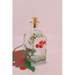 HANDBEMALT Flasche Span...