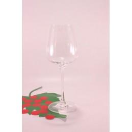 Glas Weißwein Nesium...