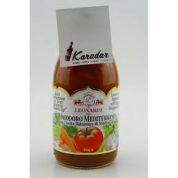 BIO Salsa Pomodoro Mediterranea con Aceto bals. 250 g Acetaia Leonardi