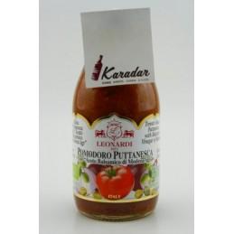 BIO Salsa Pomodoro Puttanesca con Aceto bals. 250 g Acetaia Leonardi