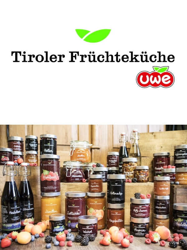 UWE - Unterweger - Tiroler Früchteküche