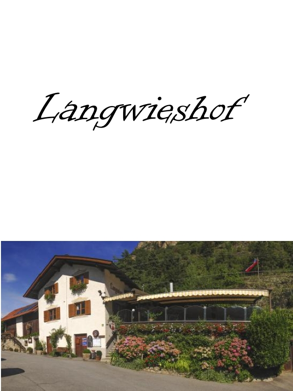 Langwieshof Distillery