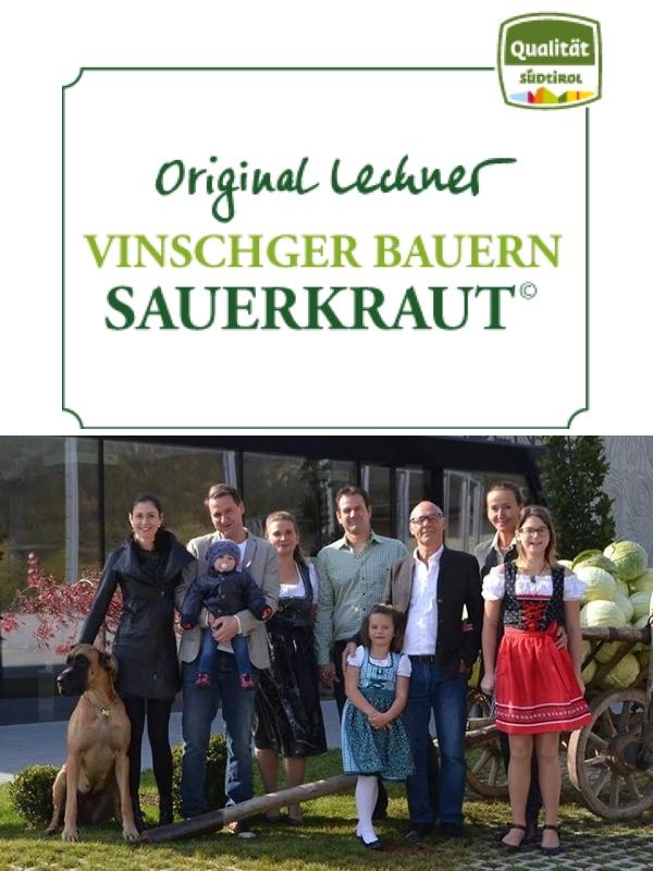 Lechner Vinschger Bauern Sauerkraut