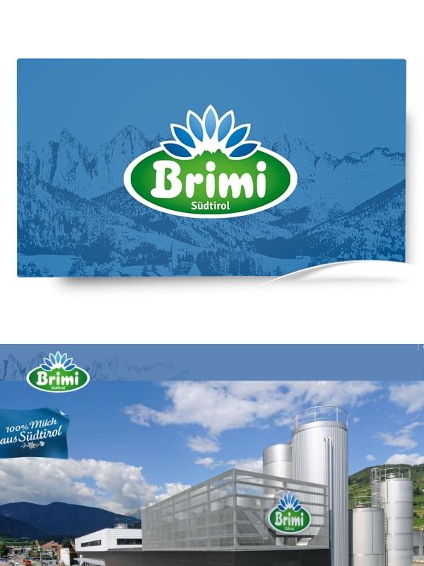 Brimi Milchhof Centro Latte